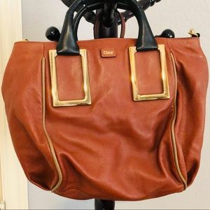 NWT Authentic Chloe Brown leather purse.